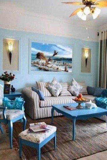后现代客厅装修风格装修效果图