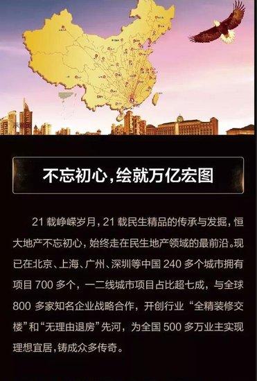 【豪宅榜样·品牌】恒大名门钜制,一城巅峰荣耀