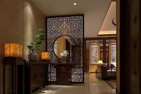 中式风格玄关装修图赏