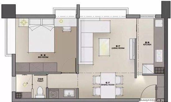 锦绣前城 精装修小户型 优质公寓选择