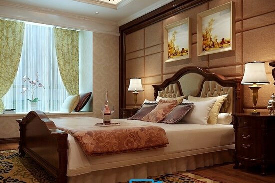 欧式古典风格卧室设计图赏