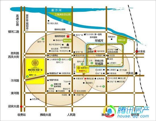 宿州城市规划图