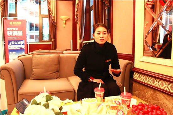恒大御景湾置业顾问杨秀秀:工作是战场 是生活的全部
