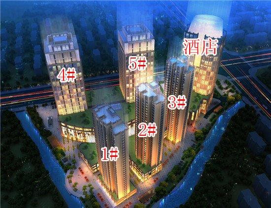 环宇国际广场1#/2#住宅 5#办公楼或6月开盘 最高94折