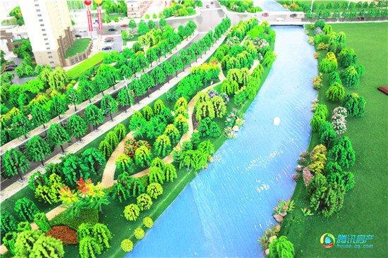 亲水亲绿的居所 滨河景观高层 国企大盘品质保障