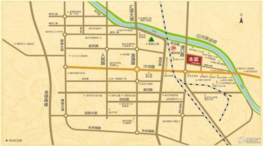 宿州学区划分地图