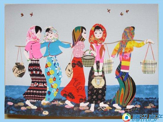 儿童DIY布贴画活动-静安 观澜郡 国庆喜乐街 你的假日我们安排