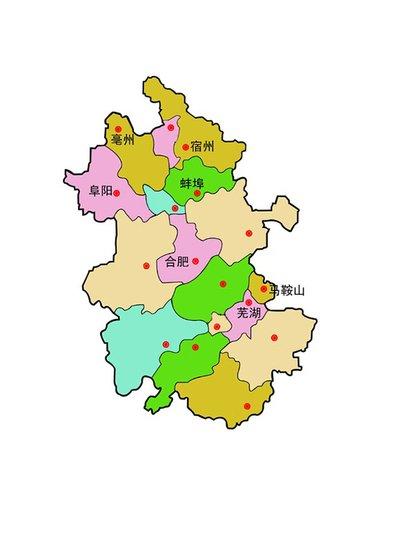亳州蕉城区地图