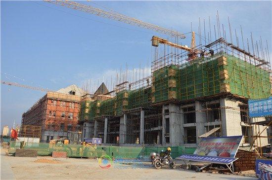 万成哈佛国际社区在售项目均已建至4层