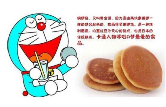 哆啦A梦喜欢吃的 铜锣烧 的英文名是什么图片