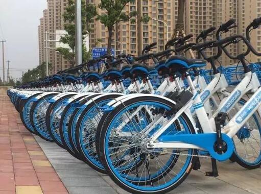金源世纪城:你真的见过巨多的共享单车在一起吗?
