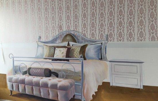 卧室家具设计手绘