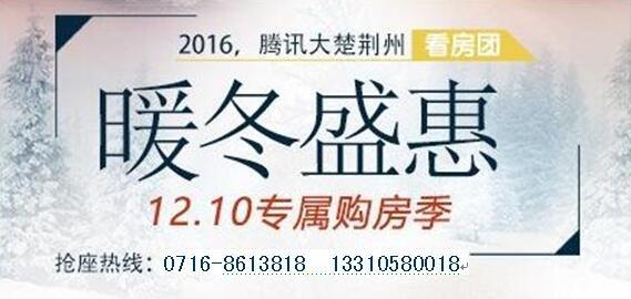 """2016年大楚荆州""""暖冬盛惠""""看房团圆满收官"""