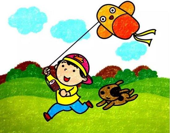 儿童春游简笔画