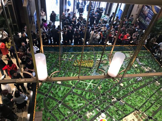 """11月3日 中梁翡翠滨江""""滨江3.0发布盛典""""璀璨开幕"""