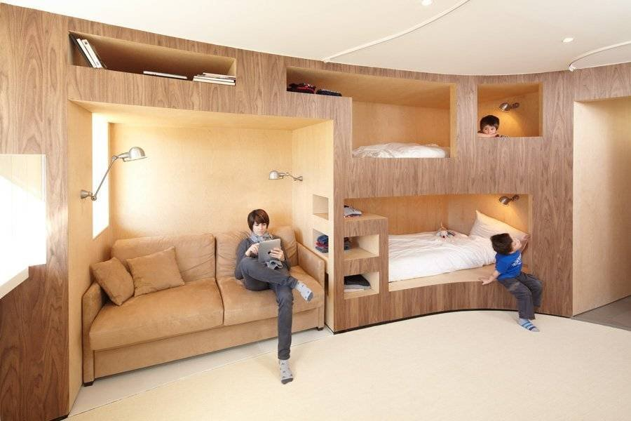 Menuires滑雪胜地公寓改造 by h2o Architects