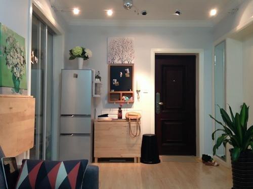 廉租房室内装修效果图,来看一套70平米的小户型装修案例,打造的小两居