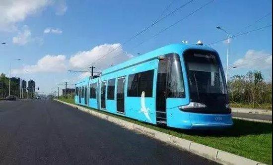 宇华豪庭交通网再添绿色有轨电车,美好家园梦享成真