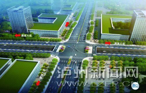 双向6车道 泸州沱江五桥及连接线一期工程本月动工