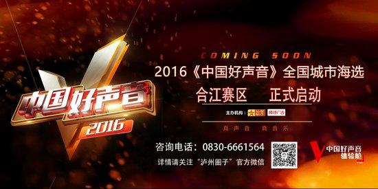 2016《中国好声音》重燃战火 泸州粉丝速度来这报名图片