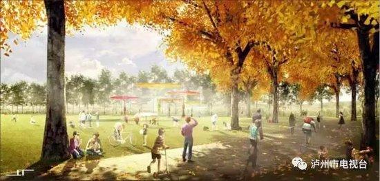 """世纪·玺悦旁 将新建2140亩连江公园,设计理念""""新酿江城"""""""