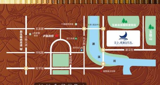 玉蟾模型纸质度假区天立观澜金月湾7月19拼图情v模型温泉日盛国际图纸图片