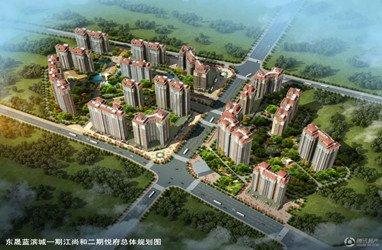 东晟蓝滨城鸟瞰图