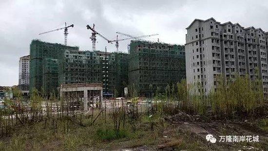 万隆·南岸花城|工程进度播报