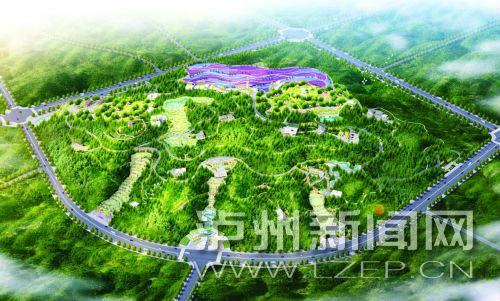 泸州市中心城区将再建朝阳公园和洞宾亭公园两座城市公园