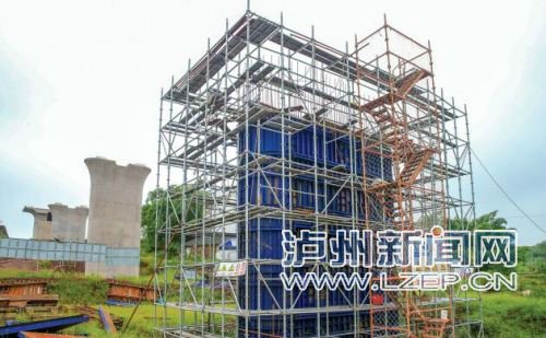 川南城际铁路泸州段建设加快推进