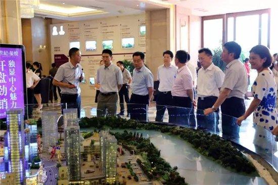 佳乐世纪城:全省统计工作会考察泸州金融商业中心:泸州大城市格局已经形成