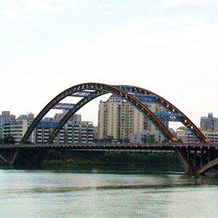 涪江三桥将在9月底完成施工