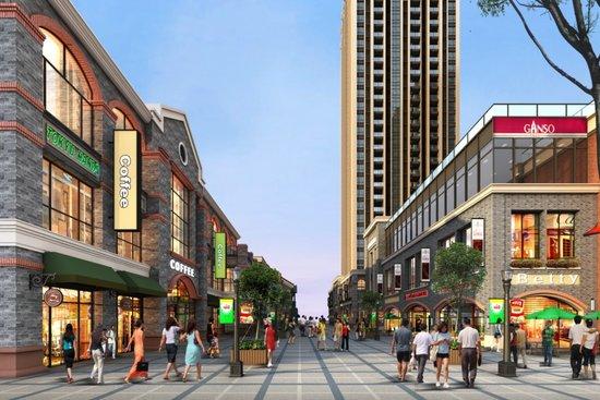 发达城市街景-第4代商业体定义生活新方式 西区金铺排号启动图片