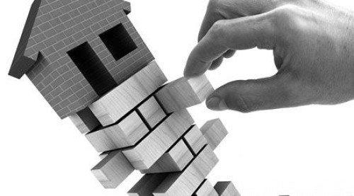 土地市场降价流拍 楼市调整房企或面临破产危机