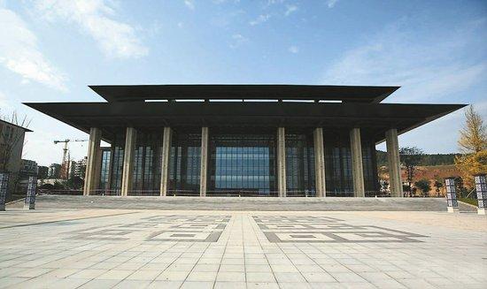 阆中群众文化活动中心 成为川东北最大单体建筑