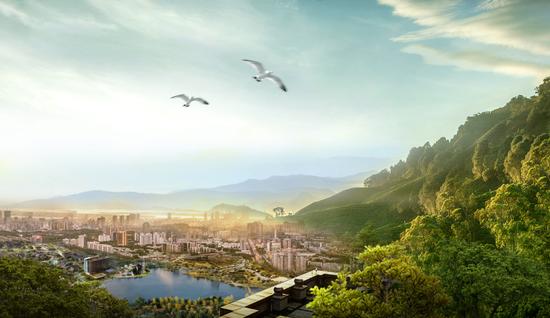 南充蓝光:为最好的土地,匹配最完美的作品