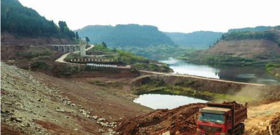 21个标段同时施工 赵子河水库预计明年5月完工