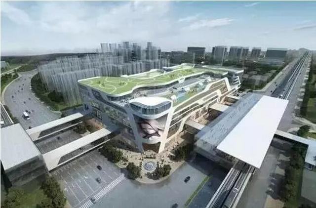 南京各区在建换乘中心有6个,远期规划24个!