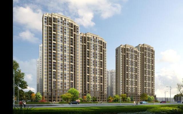 香江黄金时代预计今年首开4、7号楼