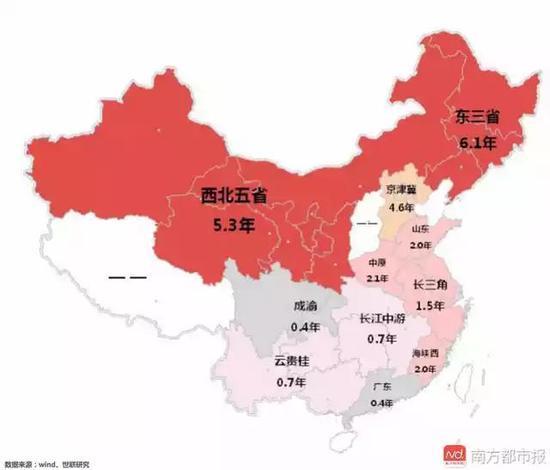 房多成灾?研究报告称东三省卖掉库存房要花6.1年