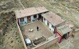 荒废的村子 一个人的村庄