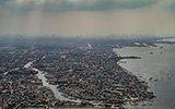 航拍下的菲律宾贫民窟