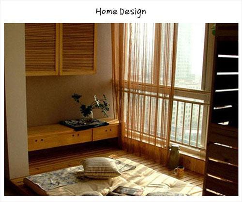 卧室中榻榻米设计 让生活别有情调