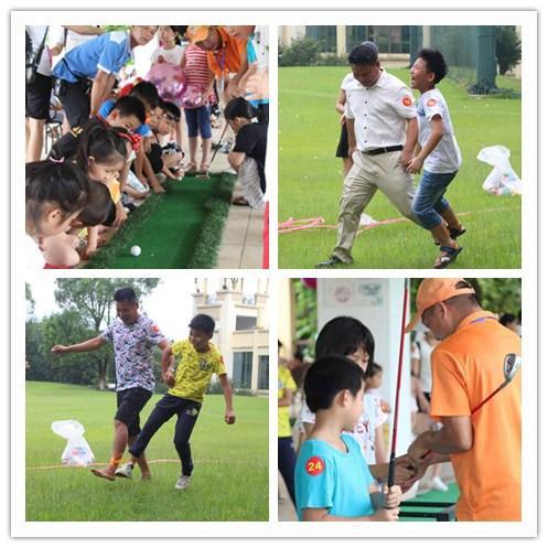清远市高尔夫球亲子活动完满结束!图片