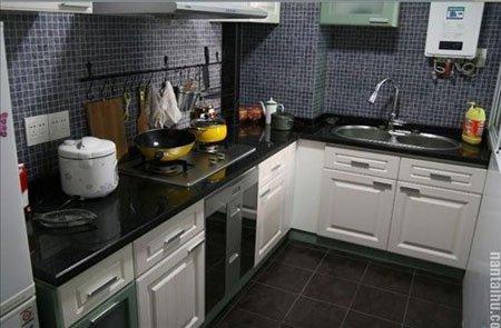 厨房柜子算了我1500,还送了个全新消毒柜.图片