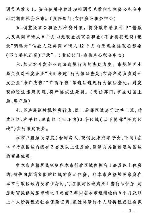 """""""沈七条""""地产新政落地,主基调两个字""""限购"""""""