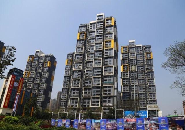 """中国一城市现""""麻将楼"""" 网友戏称清一色和不了!"""