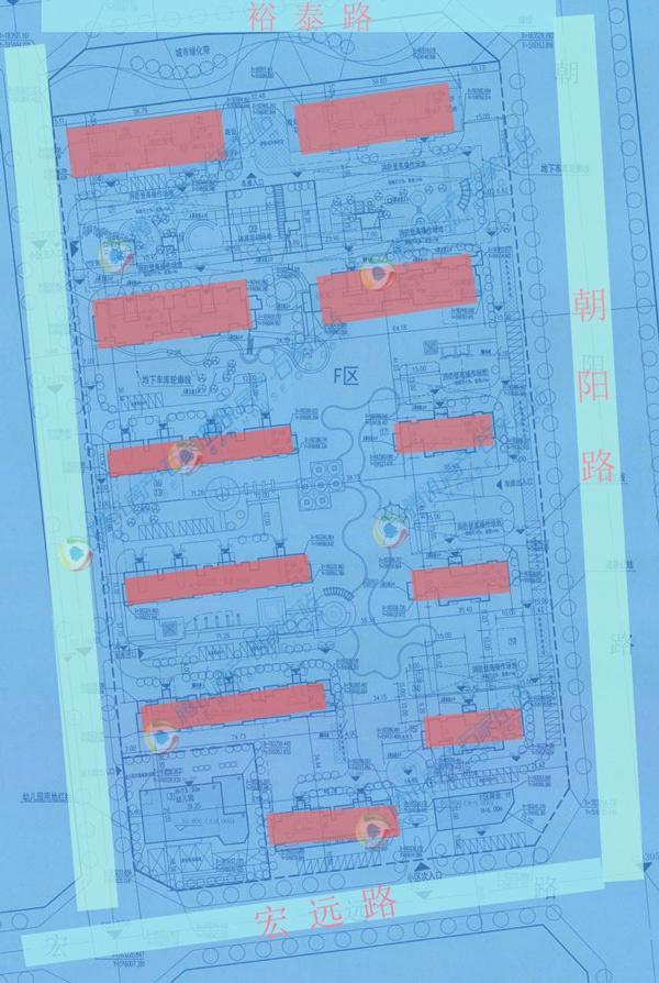栾城区1住宅项目曝规划 建11栋住宅楼(图)