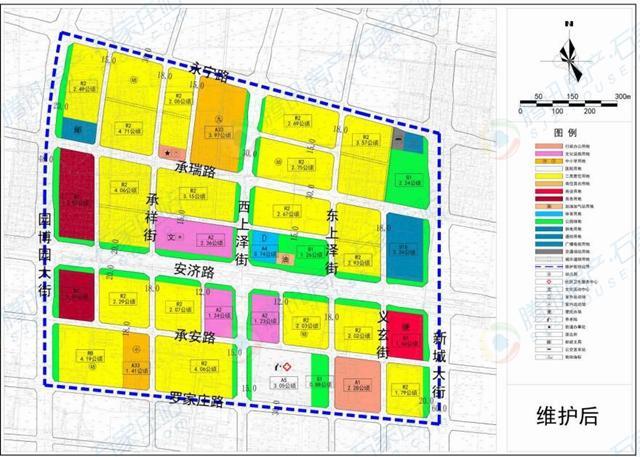 正定新区1809亩土地调规!居住、商业用地减少