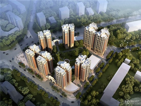 中国铁建玫瑰湾一口价3500-3690元/平方米